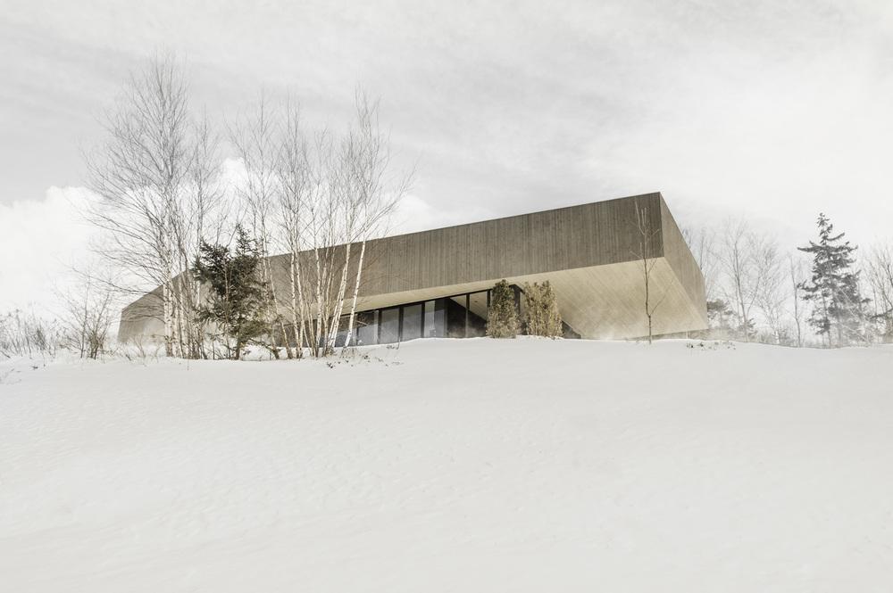 Photo par Chevalier Morales Architecte, fournie par v2com.