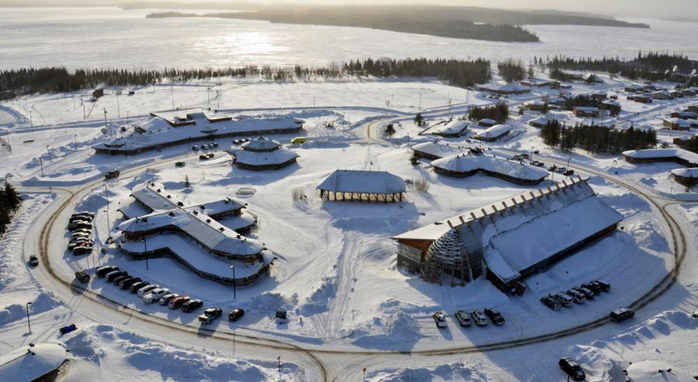 Photo parCarl Charboyer pour l'Institut culturel cri Aanischaaukamikw, fournie par v2com.
