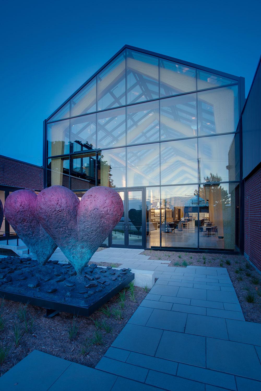 Installation artistique : Jim Dine