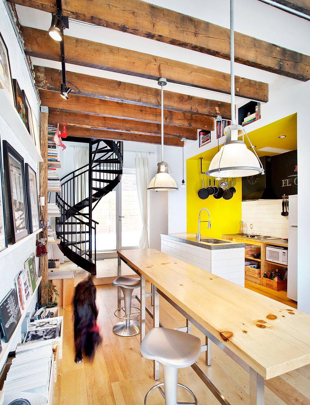 Studio / salle à manger