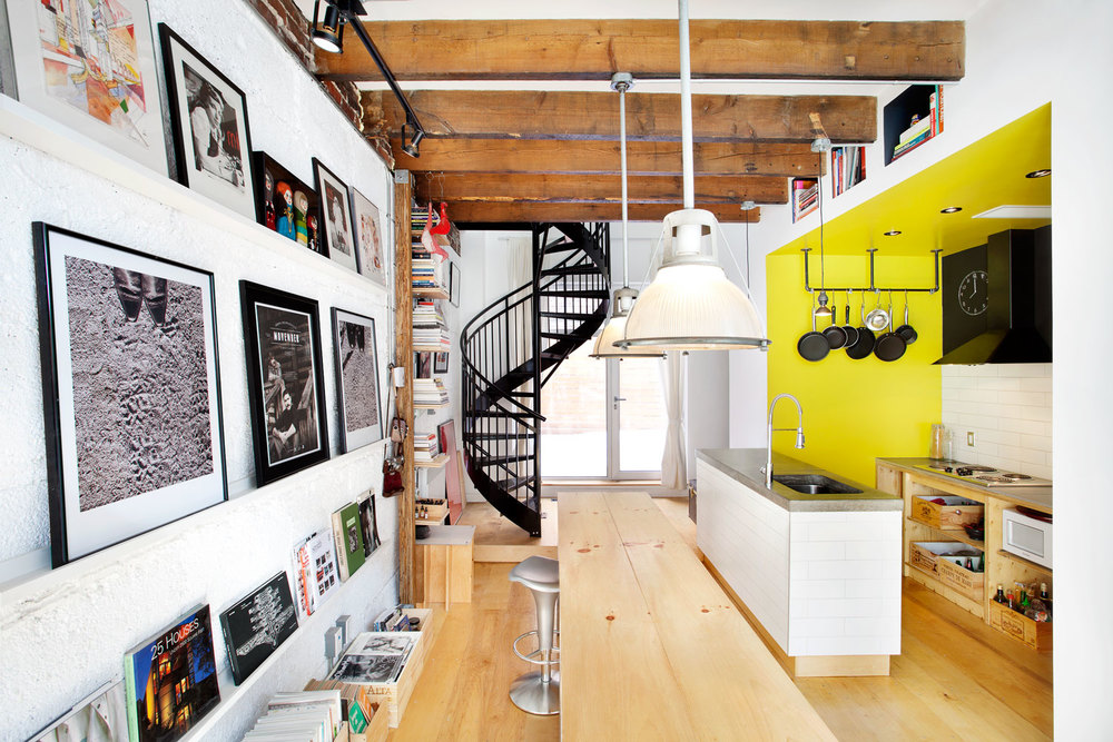 Studio – mur d'image