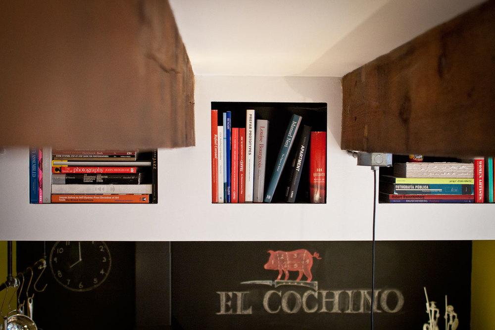Alcoves à livres
