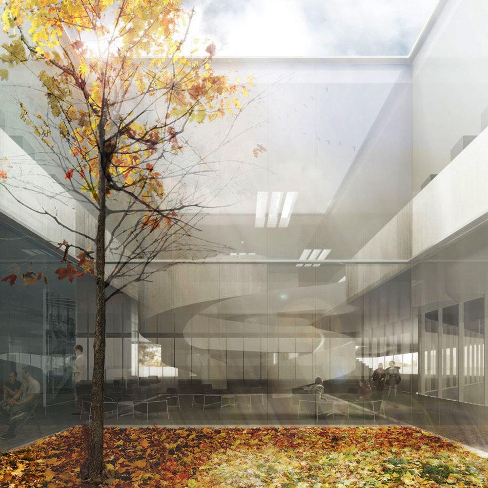 Image : Chevalier Morales architectes et DMA architectes. Source : Ville de Drummondville.