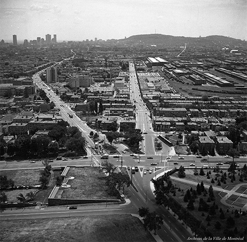 Photo : Archives de la Ville de Montréal. Source : Ville de Montréal.