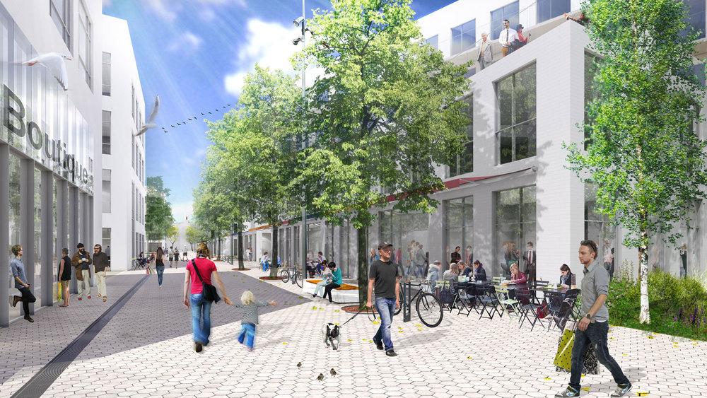 Image : Provencher_Roy et Société de développement Angus. Source : Société de développement Angus.