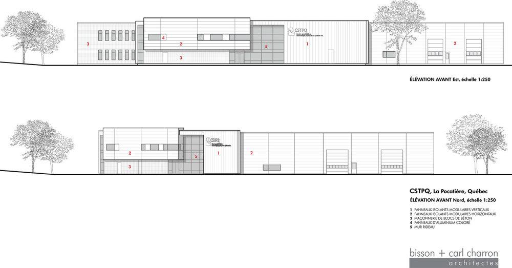 Image : bisson | associés et Carl Charron Architecte. Source : v2com.