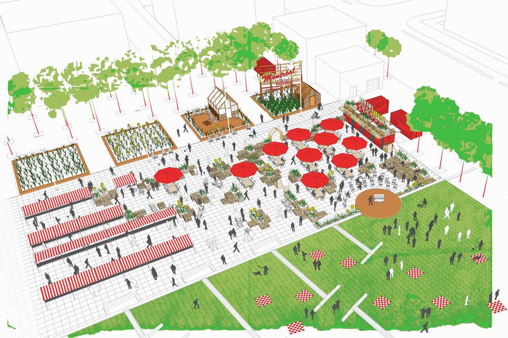 Image : Pépinière & Co. Source : Partenariat du Quartier des spectacles.