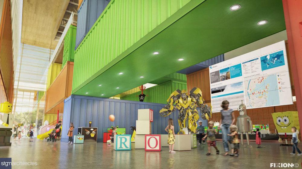Image : STGM Architectes et FIXION3D. Source : Port de Québec.