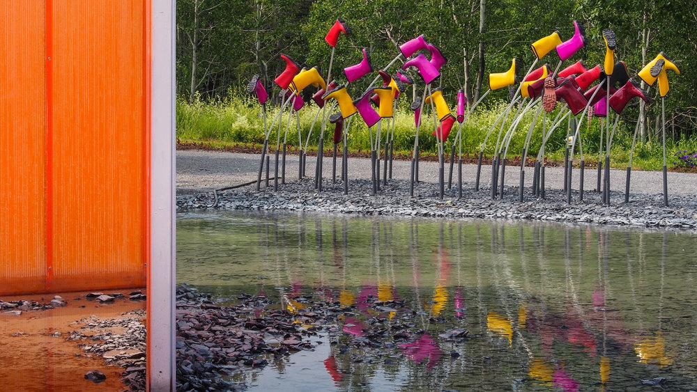 Photo : Lise Tanguay. Source : Jardins de Métis.