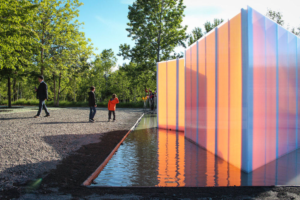 Photo : Groupe A / Annexe U. Source : Jardins de Métis.