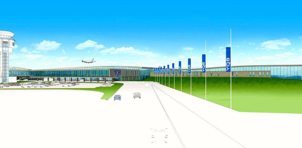 Image : Aéroport de Québec. Source : Aéroport de Québec.