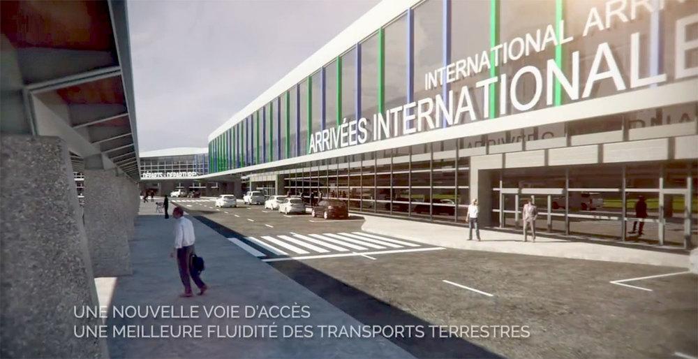 Image : Graph Synergie. Source : Aéroport de Québec.