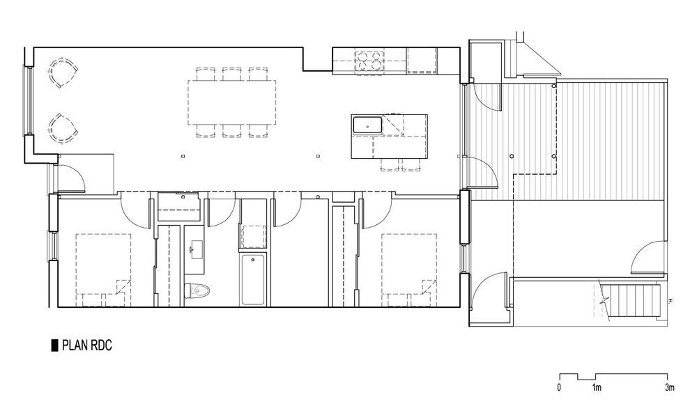 Image : Bourgeois / Lechasseur architectes. Source : v2com.