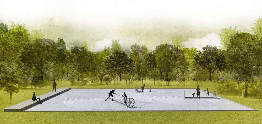 Image : Talmon Biran architecture studio. Source : v2com / Jardins de Métis.