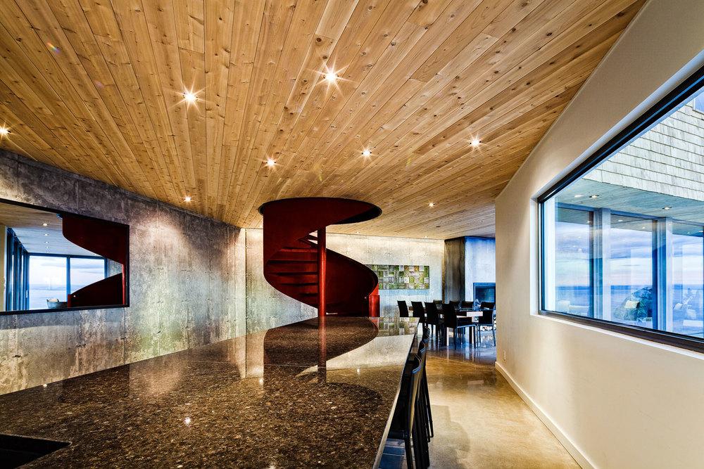 Photo : Ulysse Lemerise Bouchard (YUL Photo). Source : MU Architecture / v2com.