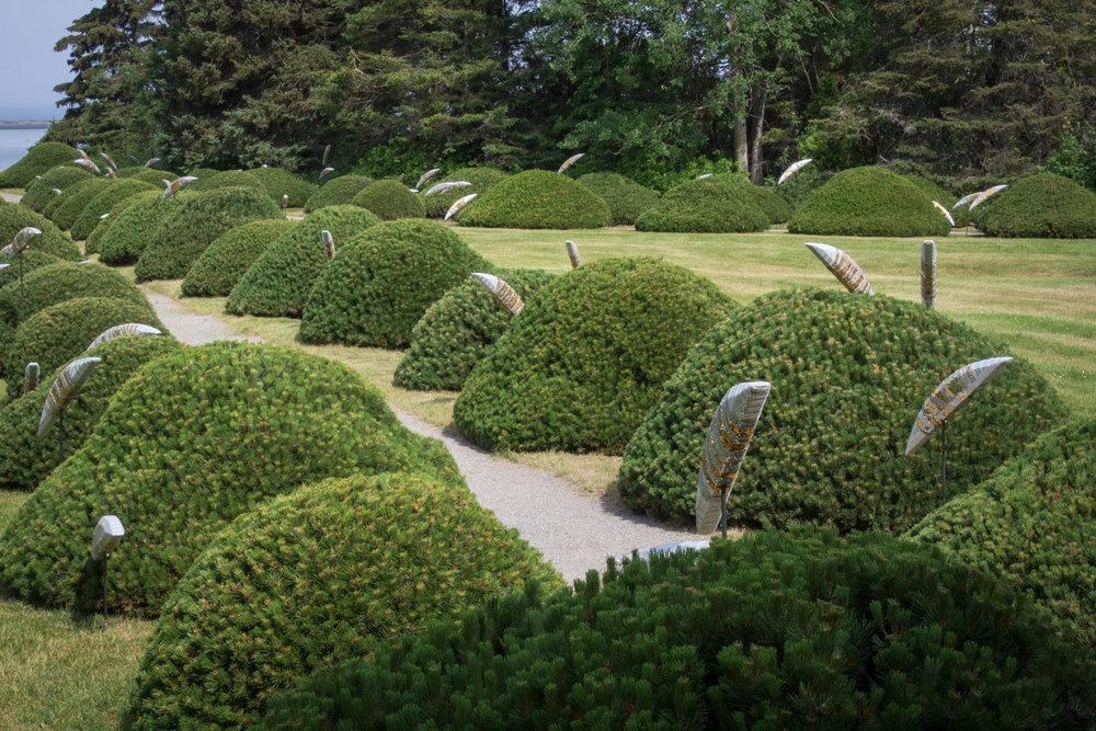 Photo : Louise Tanguay. Source : Jardins de Métis.