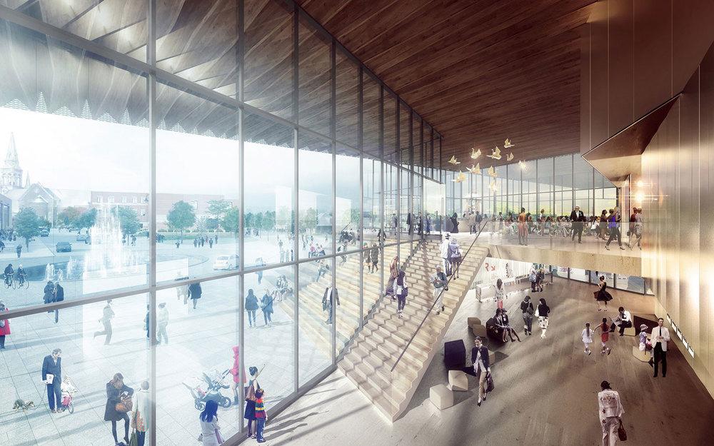 Image : Atelier TAG et Jodoin Lamarre Pratte architectes. Source : Diffusion En Scène.