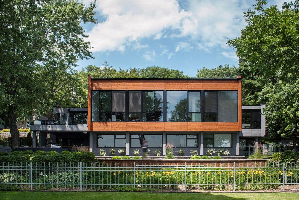 Photo : Hugues Boivin. Source : PARKA – Architecture & Design.