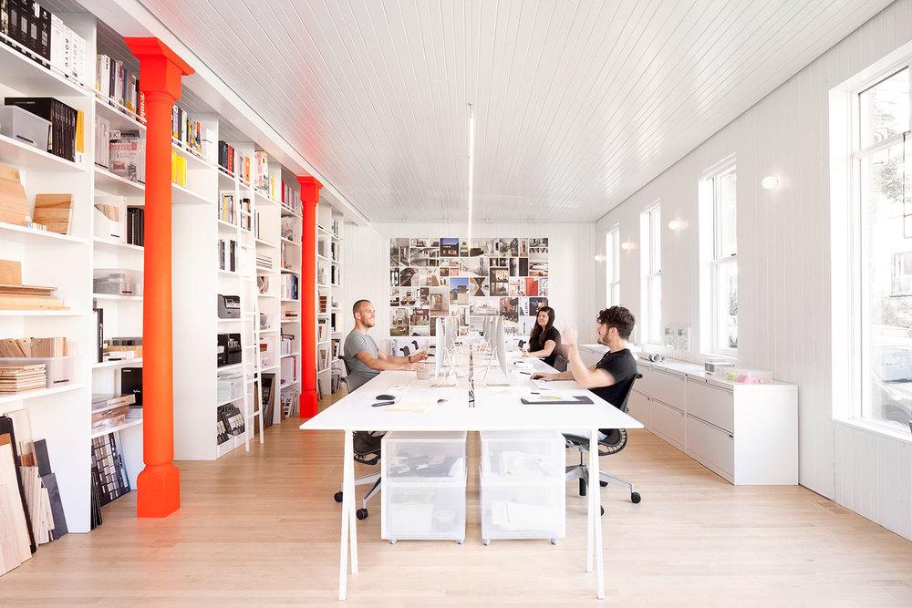 Photo : Maxime Brouillet. Source : la SHED architecture / v2com.