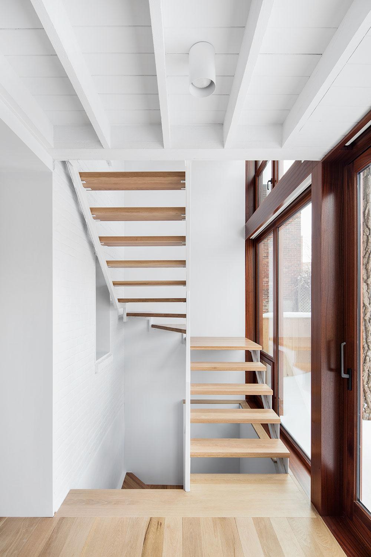 Escalier d'acier