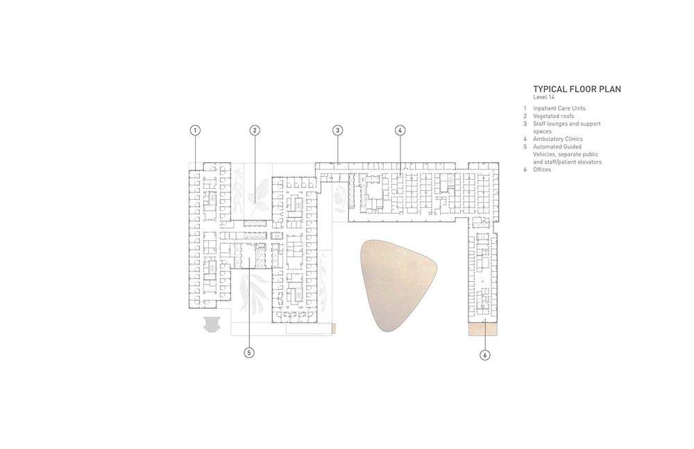 Plan d'étage typique