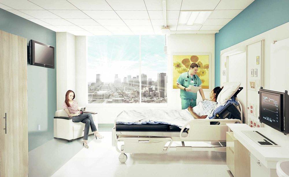Chambre de patient