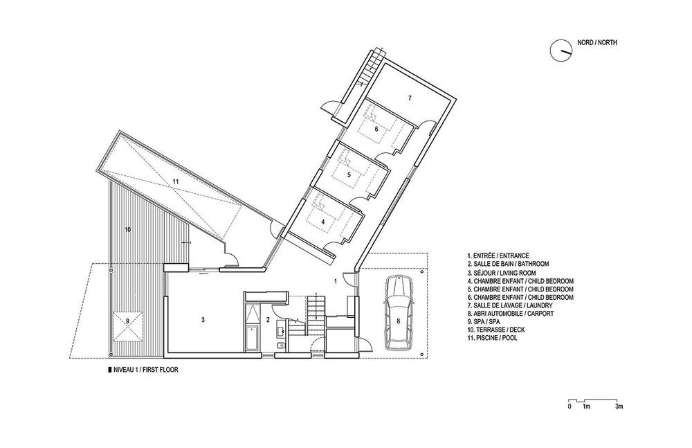 Image : Bourgeois Lechasseur architectes. Source : Bourgeois Lechasseur architectes / v2com.
