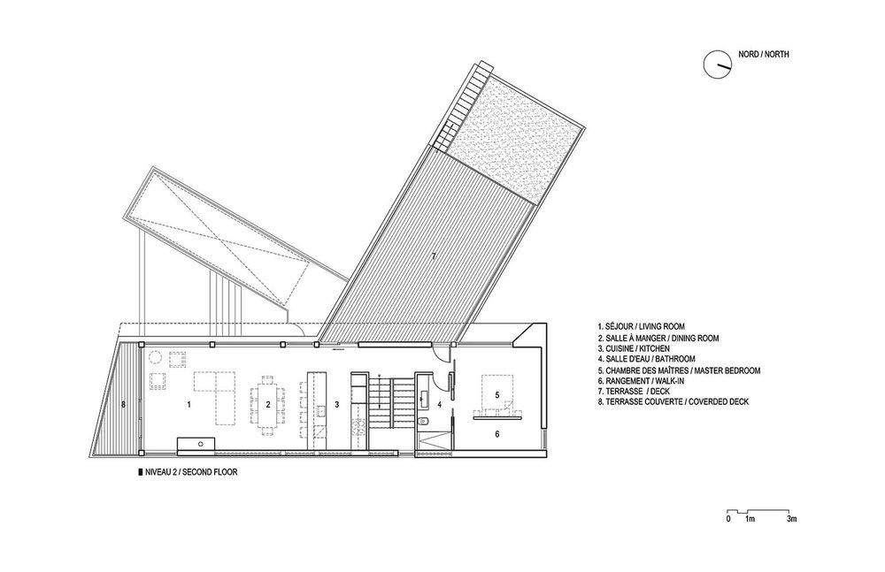 Image :Bourgeois Lechasseur architectes. Source : Bourgeois Lechasseur architectes / v2com.
