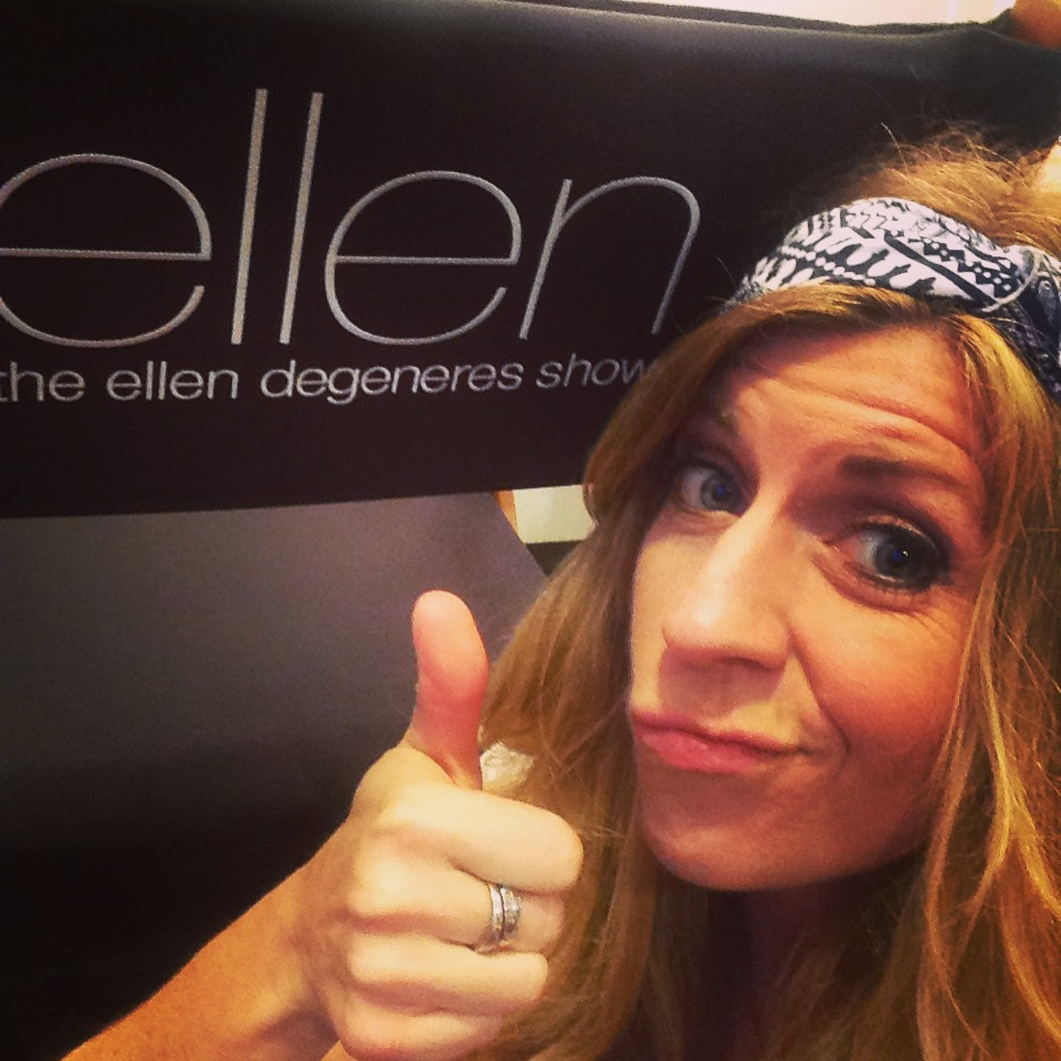 First time on Ellen! 10/2016