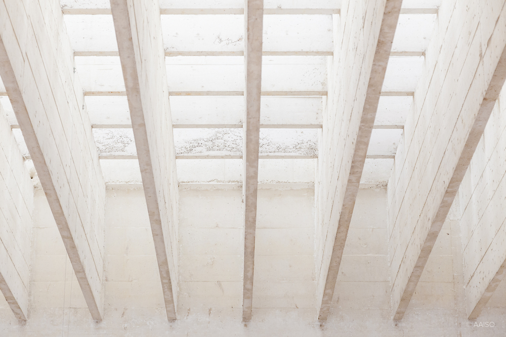Roof structure detail, Nordic Pavillion by Sverre Fehn