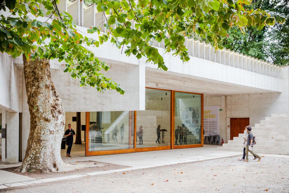 Nordic Pavillion, entrance
