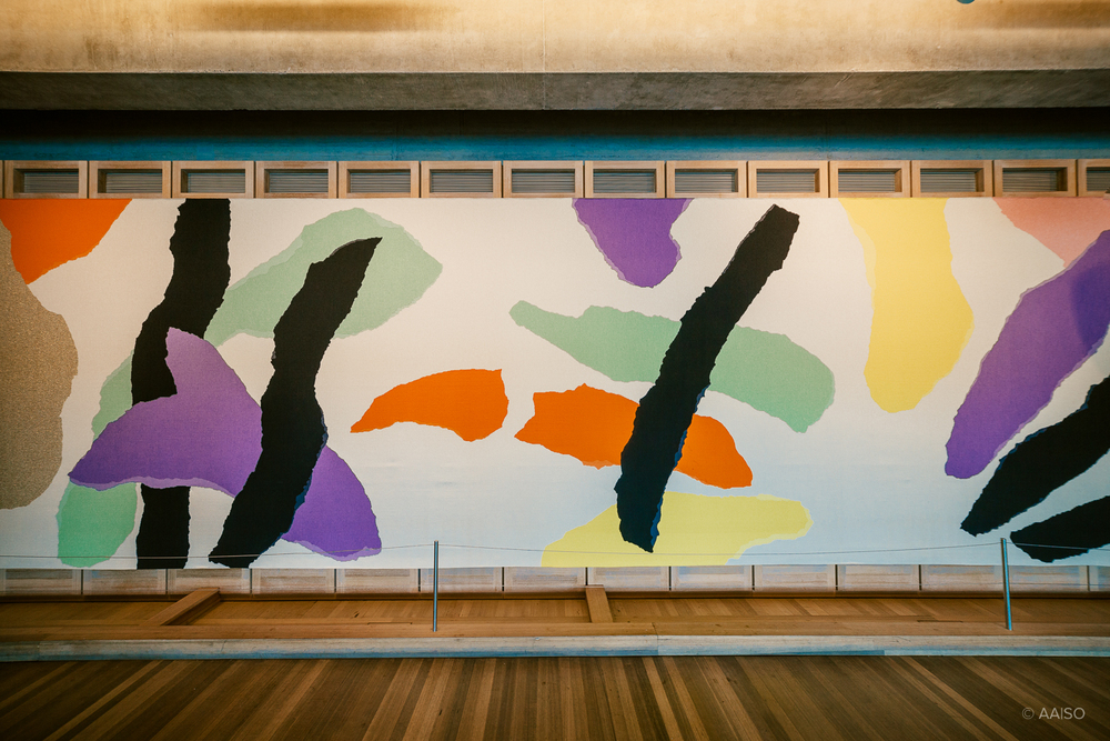 Artwork by Jørn Utzon in the Utzon-room in Sydney Opera House