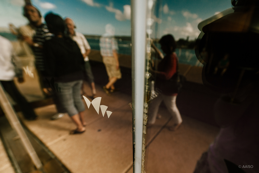 Window reflections, Sydney Opera House