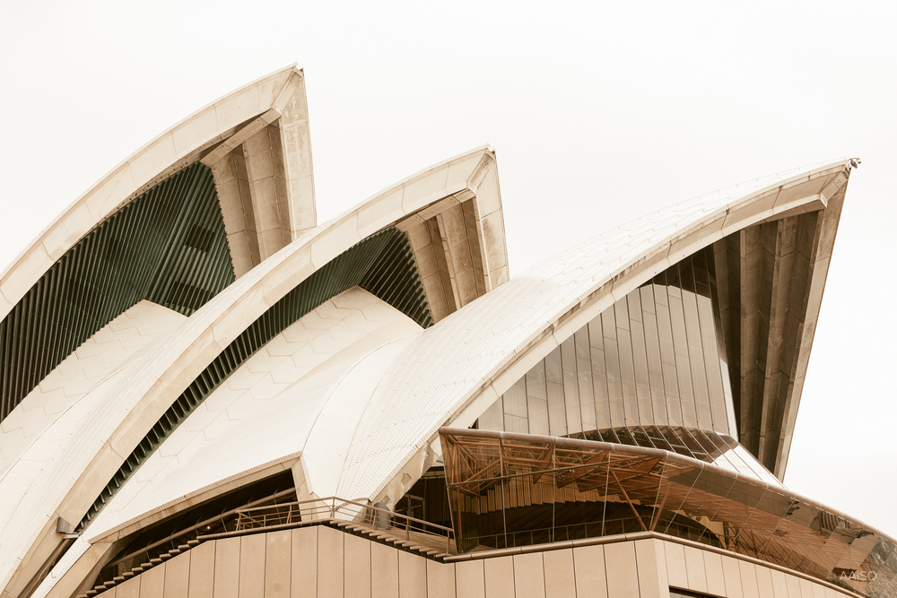 Sydney Opera House, Waterfront view