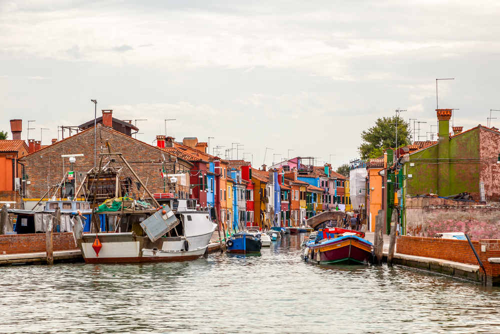 Visiting Burano, one of the islands in the Venetian Lagoon, know