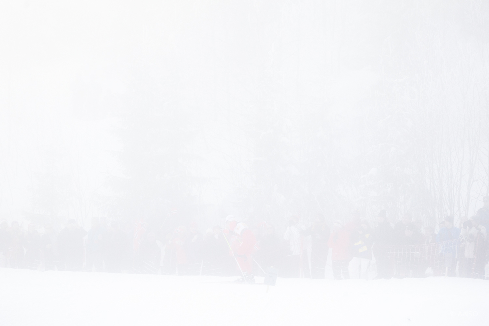 Fog, 4x5km Relay, Ladies, FIS Nordic Ski World Championships