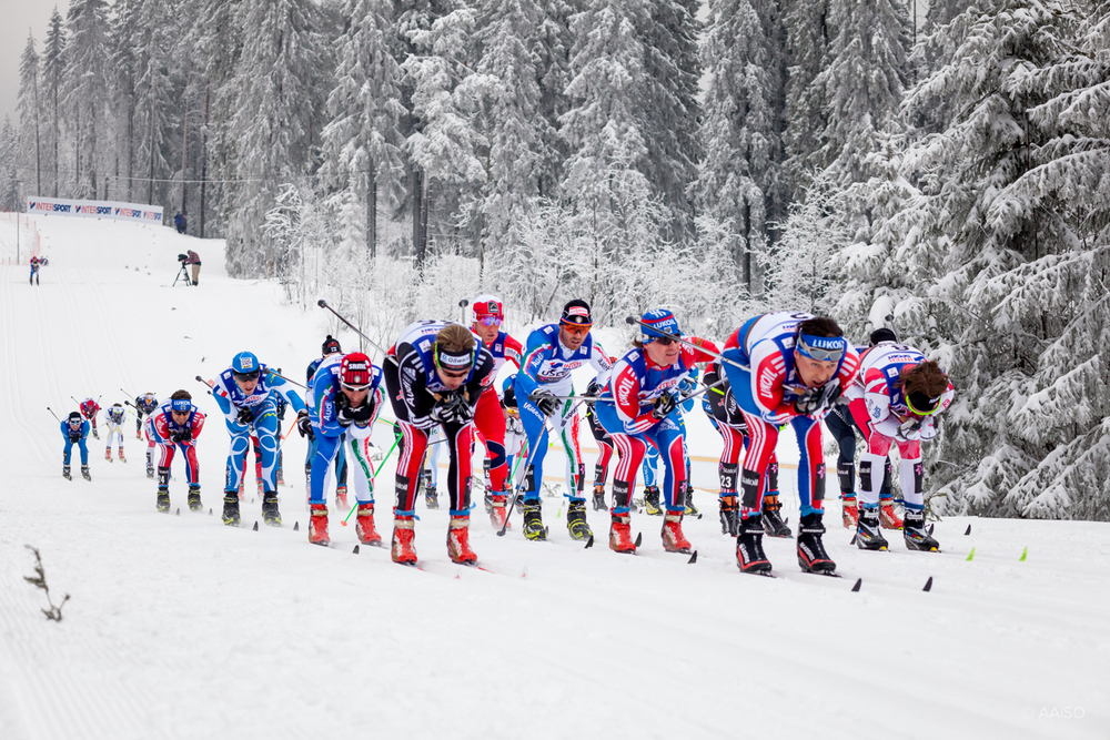 30km Cross Country Duathlon, Men. FIS Nordic Ski World Champs.