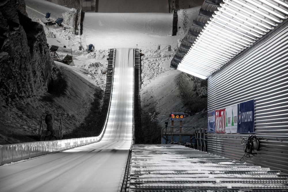 Vikersund Ski Flying Hill, View from top