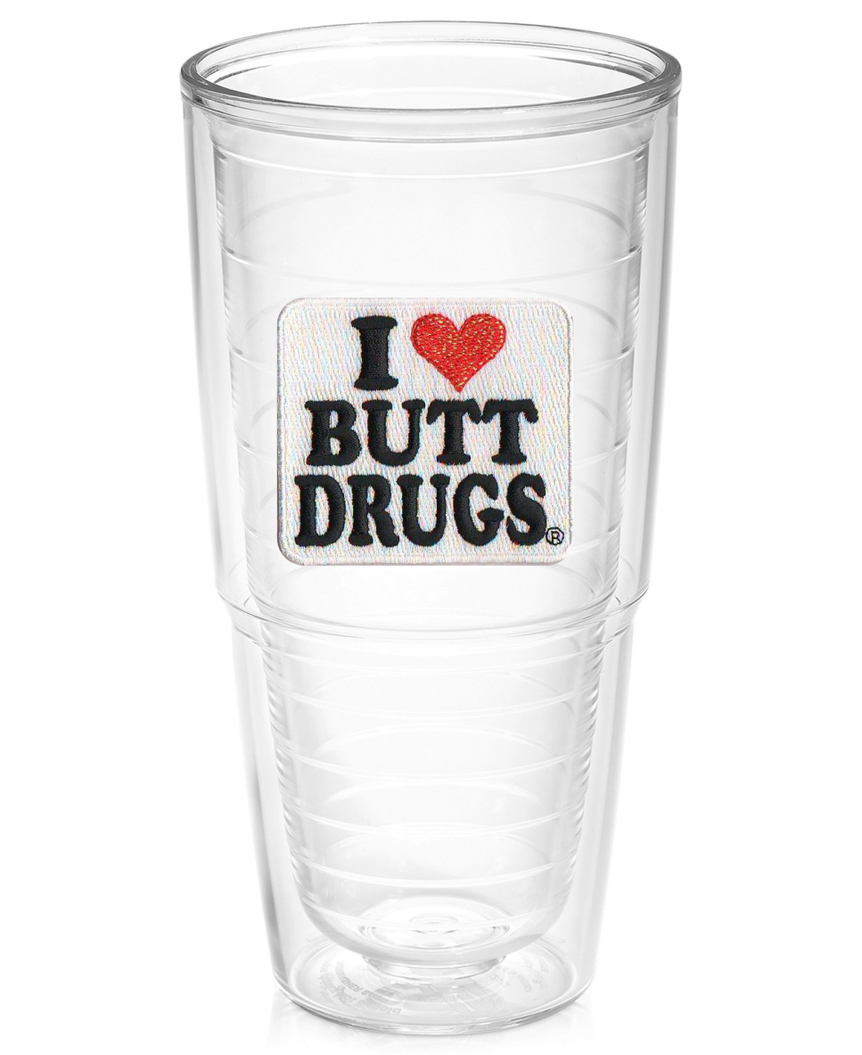 i love butt drugs 24oz tervis tumbler - Tervis Tumblers