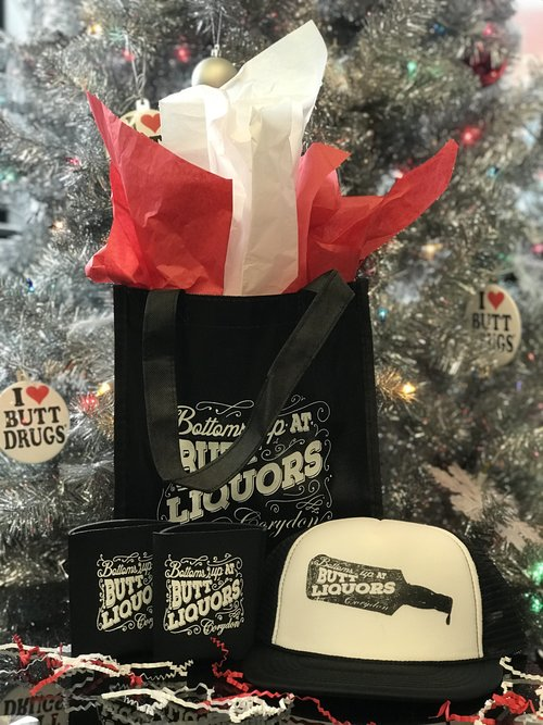 fannie christmas butt liquor lover pack butt drugs
