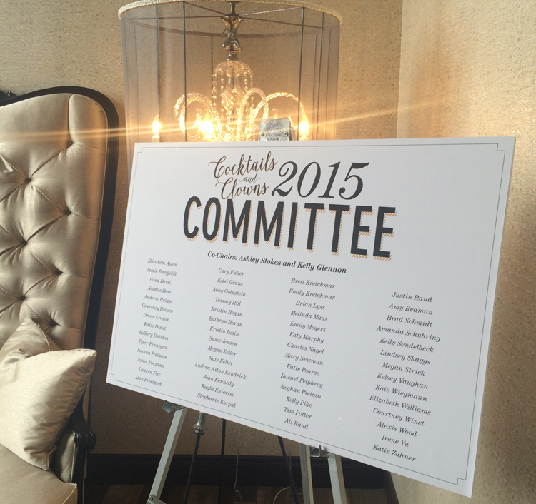 The Committee sign