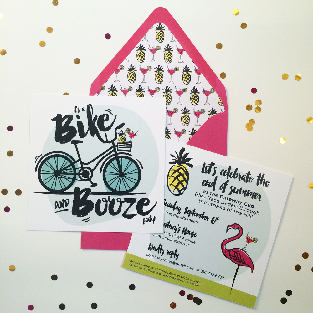 2. Bike & Booze Party