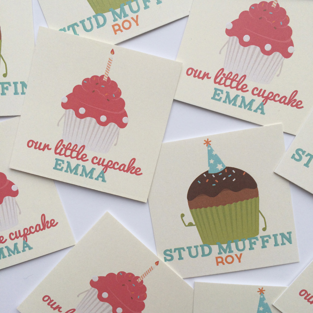 9. Cupcakes & Stud Muffins Party