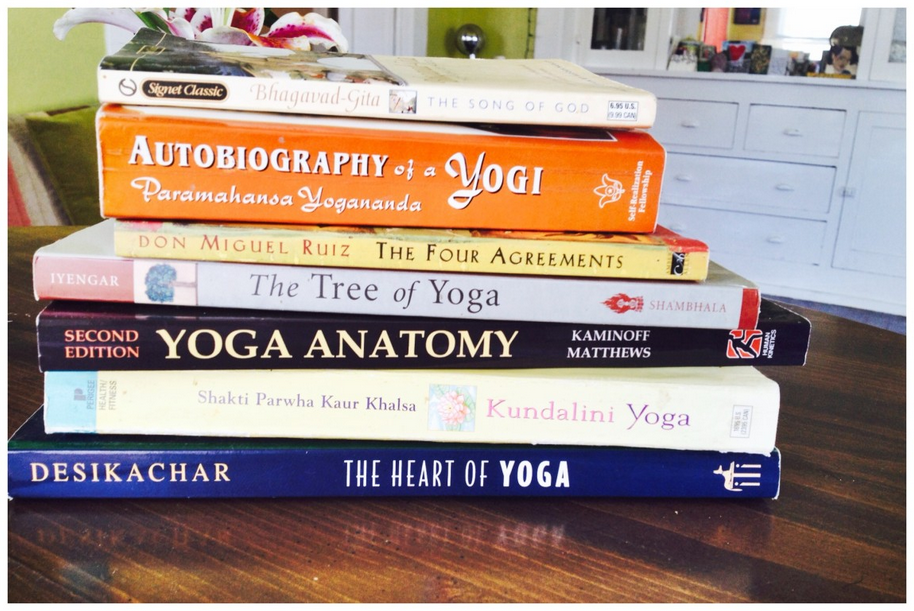Looking for even more insight? Read some books, ya'all. Get down with your yogi-nerd-loving self.