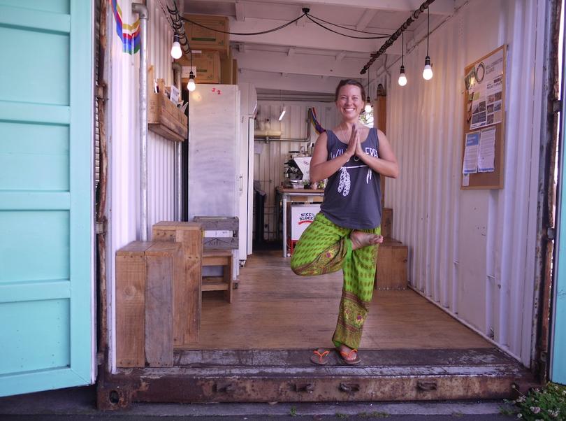 See yogi smiling.