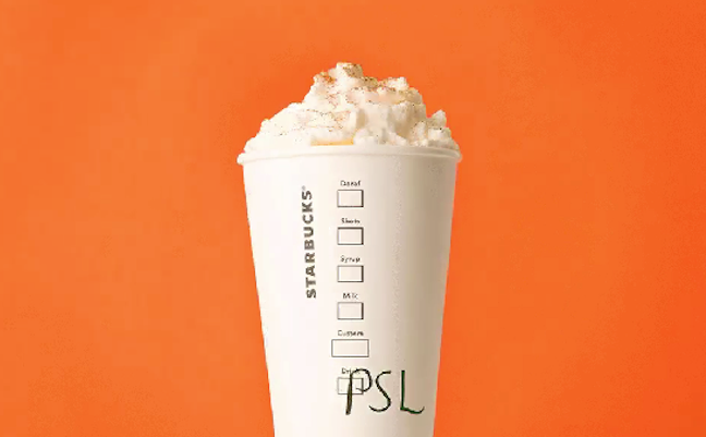 Image c/o consumerist.com the one-and-only delicious pumpkin spice latte for your highness.