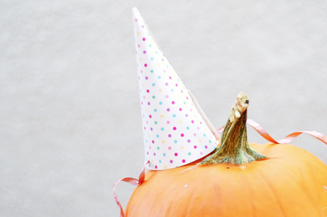 Pumpkin Spa Party hat anyone?