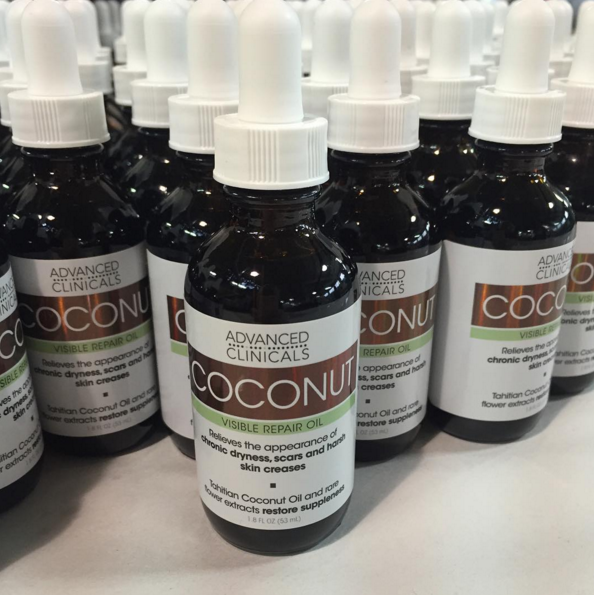 Coconut Oil #freshofftheline. Find our Instagram @advanced_clinicals #behindthescenes