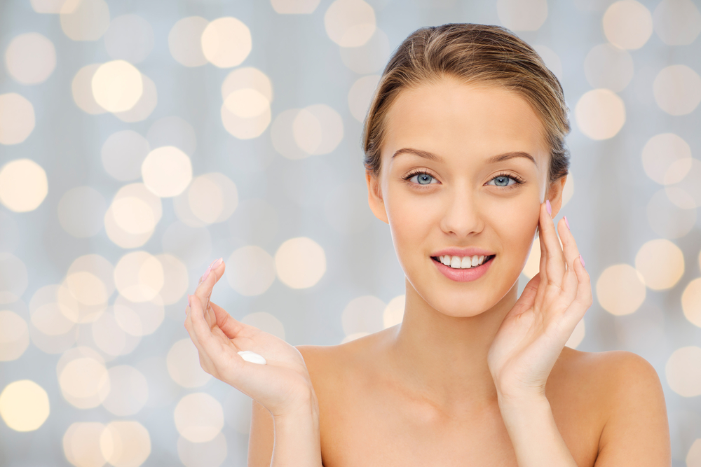 Gorgeous, glowing skin. Image c/o dreamstime.com