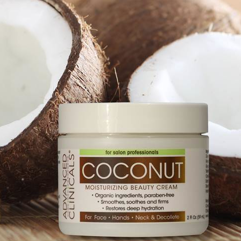 Coconut Cutie alert. Travel size Coconut Moisturizing Cream.